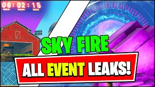Fortnite Operation Sky Fire EXPLAINED (Event Story LEAKED, In-Game Map, Black Hole, TEASER 1)