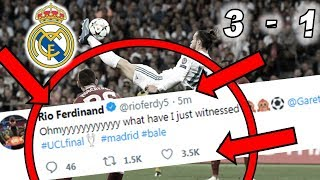 Video Players REACTION to GARETH BALE Wonder Goal in Champions League Final: Real Madrid 3 - 1 Liverpool ! download MP3, 3GP, MP4, WEBM, AVI, FLV Juli 2018