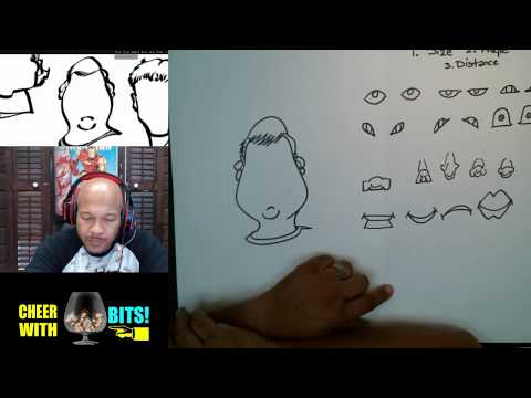 How To Draw Caricatures With Practice Sheets 2