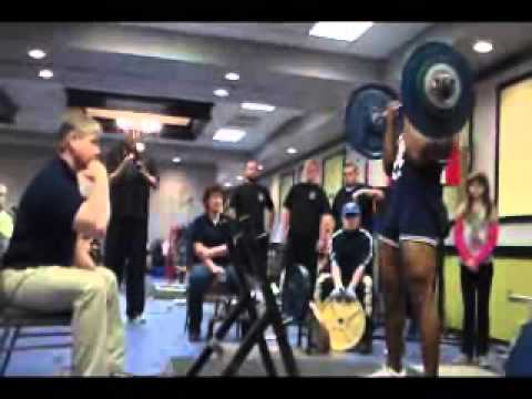 N.A.S.A. Powerlifting Natural Nationals 2014 Meet Highlights