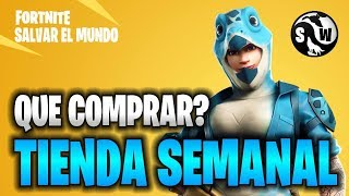 #Fortnite #SalvarElMundo ++WEEKLY STORE++ NEW HEROES PREHISTORIC