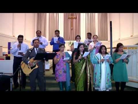 Telugu Christian Songs - 'గెత్సేమనే తోటలో - ప్రార్ధింప నేర్పితివా Gethsemane Thotalo' - UECF Choir