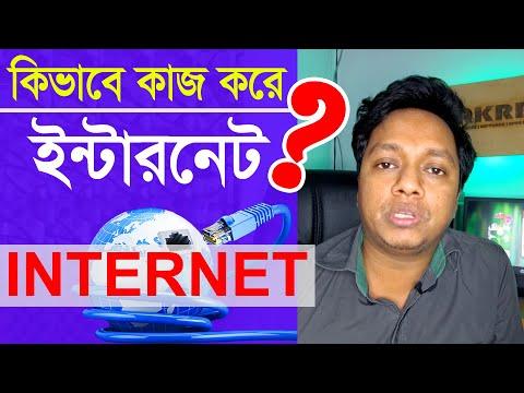 কিভাবে ইন্টারনেট কাজ  করে? | How To Work Internet And Submarine Cable | Bangla
