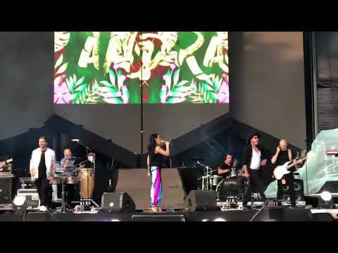 Andra feat. Pachanga deschiderea Festivalului Maluma El CARRUSEL