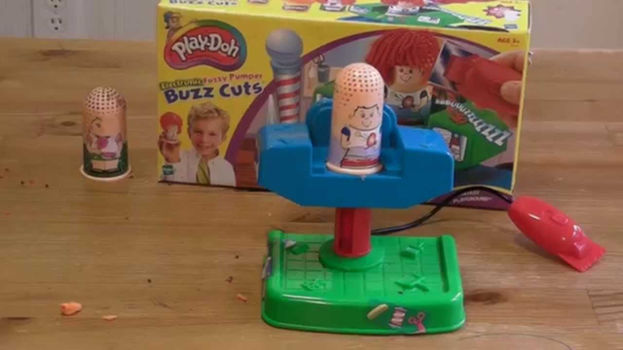 2404c583bd5 Buzz Cuts from Play Doh Toy Review - YouTube
