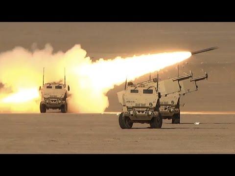 Soldiers Fire HIMARS In Kuwait