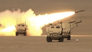 Soldiers Fire HIMARS In Kuwait