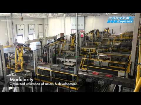 System Logistics - Coca-Cola Swire - Fully automated picking system