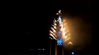 2018 台北101- 跨年煙火/Taipei 101 -  New Year's Eve fireworks [4k]