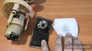 ремонт ДУТ матиз matiz и замена фильтра топливного насоса
