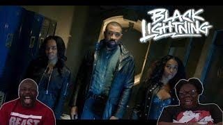 Black Lightning 1x1 REACTION!! {The Resurrection}