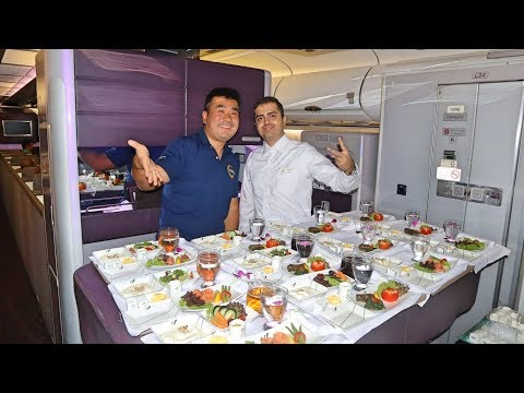 Mahan Air A340-600 Business Class - What's Iranian Airline Like?