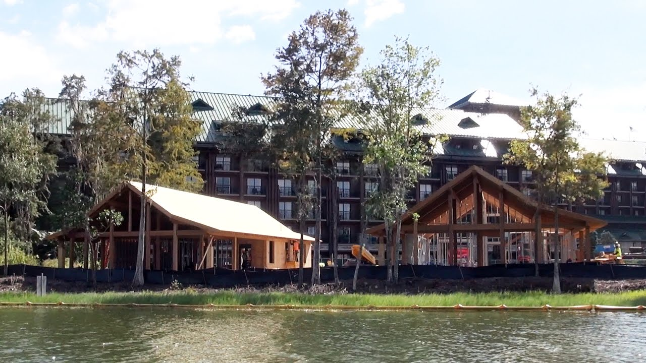 Dvc villas at disney 39 s wilderness lodge construction for Villas wilderness lodge