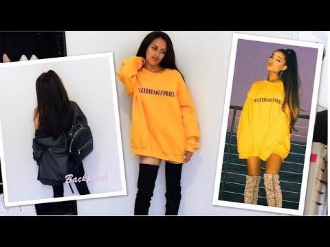 HOW TO DRESS LIKE ARIANA GRANDE 2017
