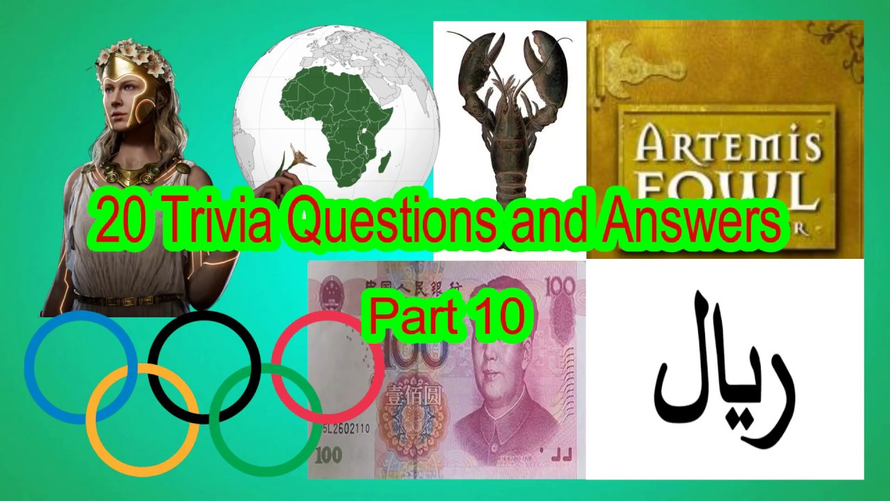 WATCH l 20 Trivia Questions and Answers l General ...
