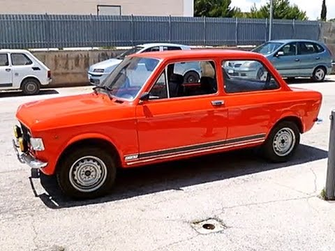 Fiat 128 Rally, model year 1973
