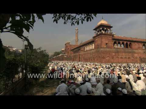 One of the largest mosques in Asia and a large Muslim population: Islam is thriving in India