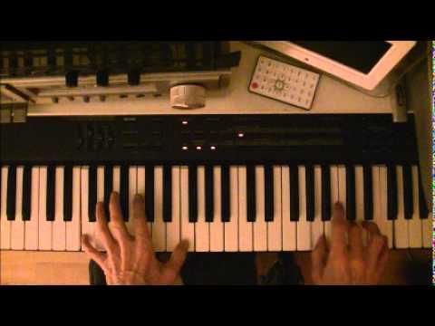 many rivers to cross jimmy cliff intro piano tutorial - YouTube