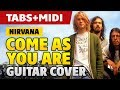 How To Play NIRVANA Come As You Are On ACOUSTIC GUITAR Fingerstyle Tabs mp3