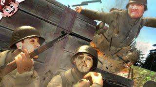 TRENCH WARFARE! (The Derp Crew - Verdun)