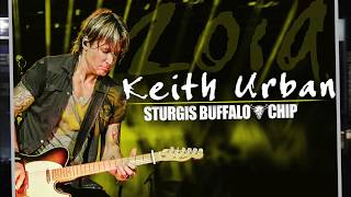 Keith Urban at Sturgis 2019