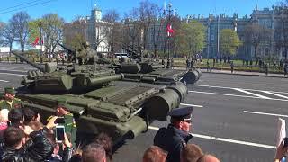 Парад Победы в СПб 2018 год
