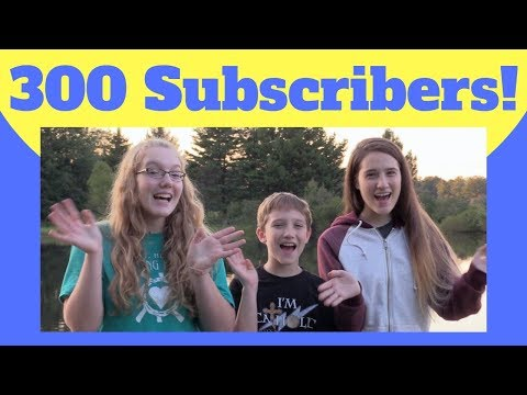 300 Subscribers!