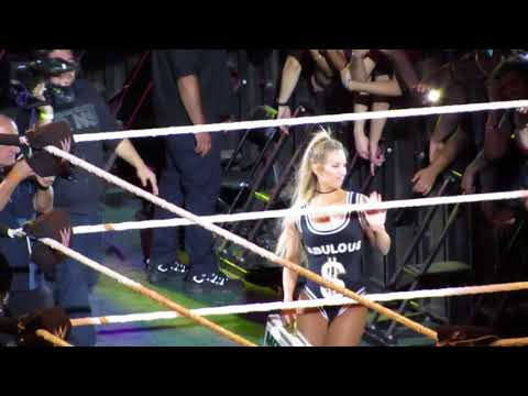 Naomi and becky Lynch vs Tamina and Carmela wwe santiago 2017 from YouTube · Duration:  5 minutes 29 seconds