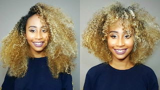 HOW TO CUT & SHAPE CURLY HAIR WIGS (QUICKEST METHOD!!!) | FREETRESS EQUAL