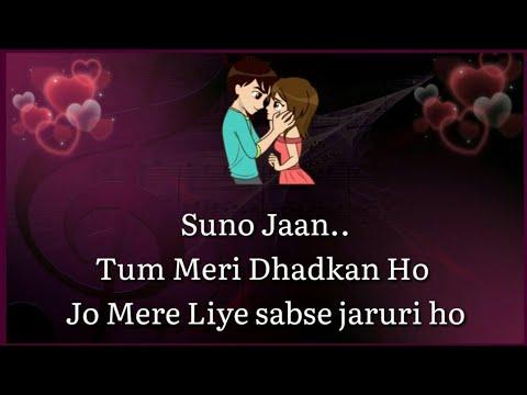 Love Shayari Status 💕  Romantic Love Lines for Gf 👸  Love Quotes in Hindi 💕