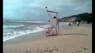 Пляжи Болгарии Кранево/Beaches Bulgaria Kranevo(Отдых в Кранево Болгария. Пляж и море в Кранево. Дороги вдоль береговой линии., 2016-04-06T21:00:16.000Z)