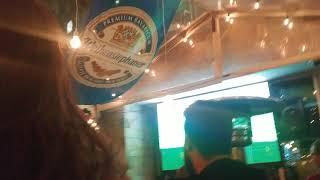 France vs Australia World Cup game at Melbourne Bar