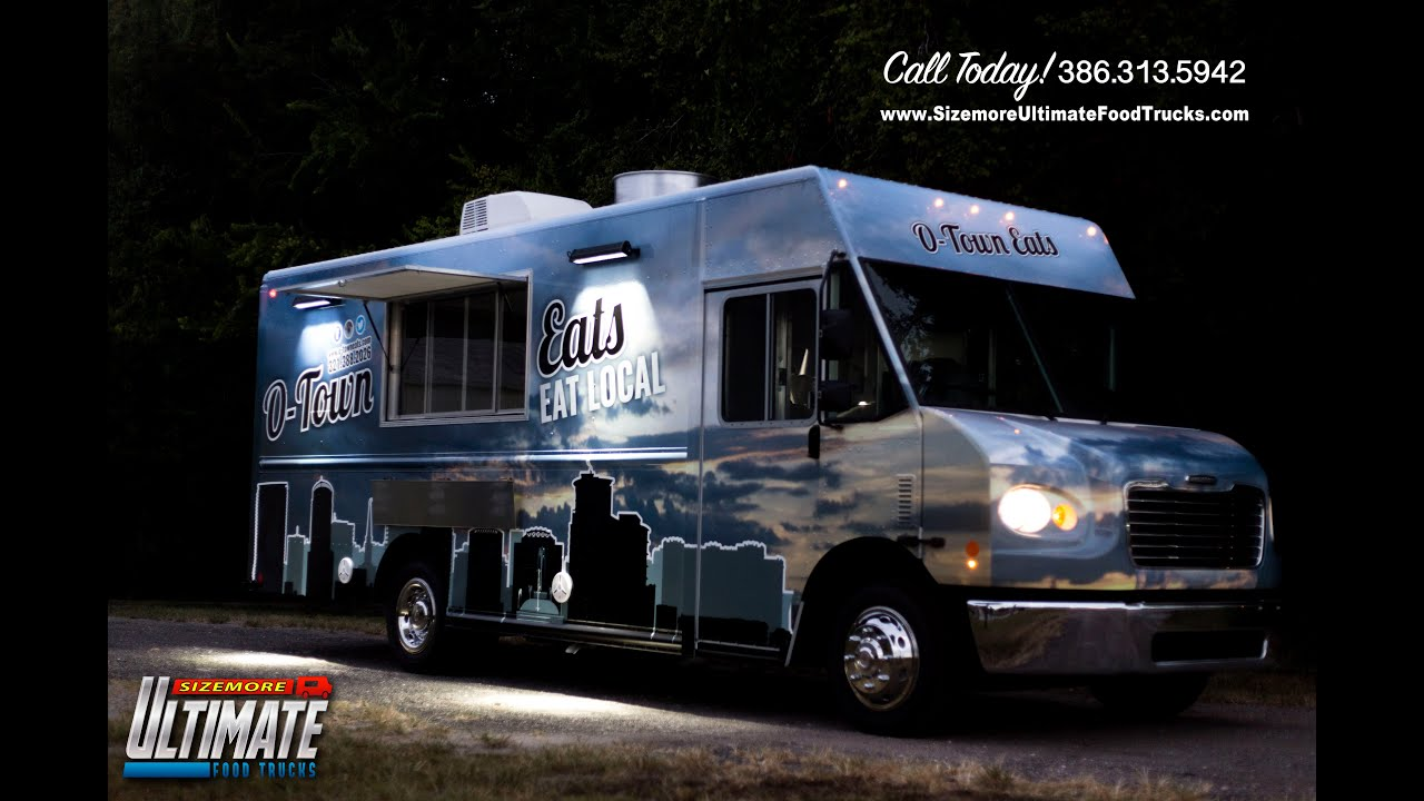Custom food truck o town eats youtube for Food truck design software