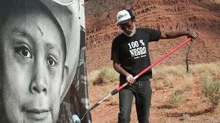 Street Artist Reflects Native American Dignity at a Monumental Scale | KQED Arts