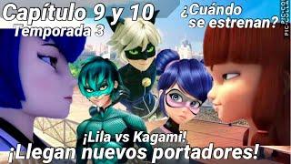 Capítulo 9 y 10: Onichan y Miraculer | NUEVOS PORTADORES | Miraculous Ladybug Temporada 3 | SINOPSIS