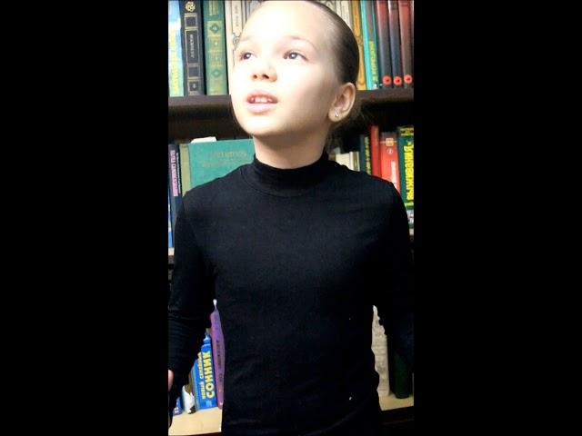 Изображение предпросмотра прочтения – ЕваСултанова читает отрывок изпроизведения «Тарас Бульба» Н.В.Гоголя