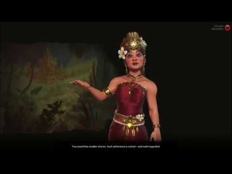 Sid Meier's Civilization VI - Gitarja Of Indonesia's Agenda (Positive Reaction)