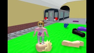 Roblox Escape The Subway Zombies! - Toy Heroes Games