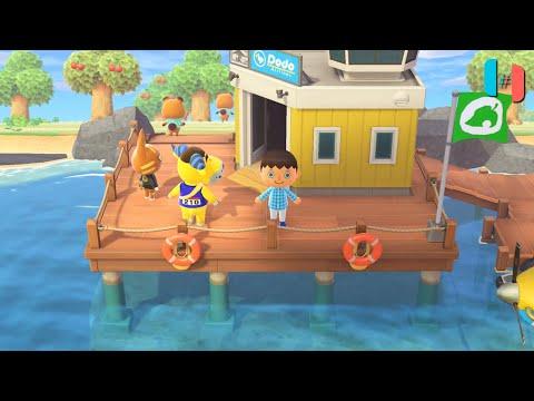 Animal Crossing: New Horizons Ingame / Gameplay (Ryujinx custom build) Part 1