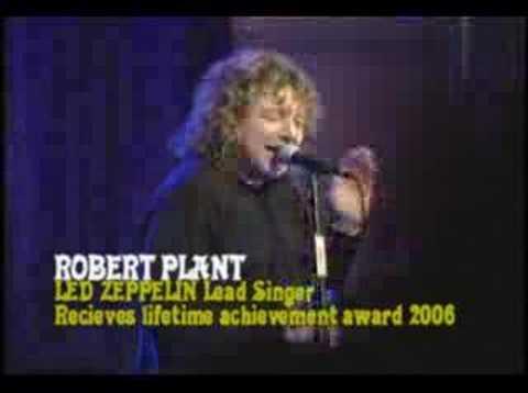 Robert Plant gets Grammy LIfetime Award