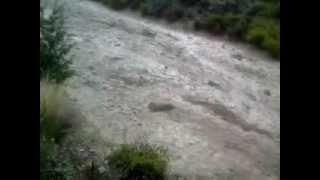 Alud en Valle del Sol - 07/02/2013 - Potrerillos - Luján - Mendoza -