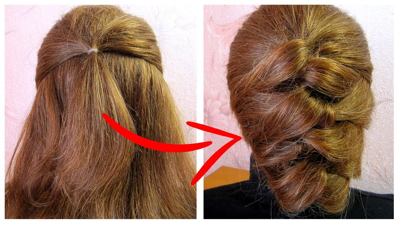 Amazing Juda Hairstyle For Bridal Party Wedding Coiffure Pour Cheveux Courts Facile A Faire Youtube