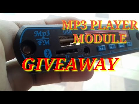(Giweaway)Bluetooth mp3 player module (Ended)