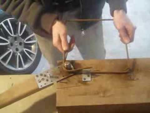 Modish Gięcie strzemion - giętarka własnej roboty SPOSÓB NA BUDOWĘ - YouTube DF61