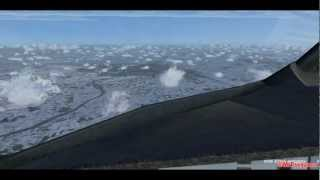 Full flight from Munich to Vienna Airport with Airbus A320 Austrian FSX-Movie [1080p] Part 2