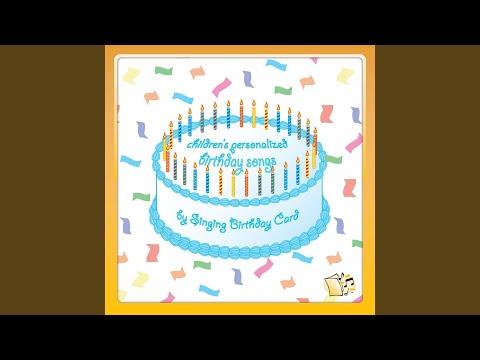 Happy Birthday, Aaron (Children's)
