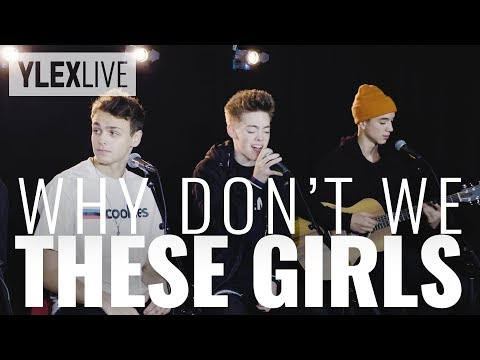 Why Don't We - These Girls (YleX Live)