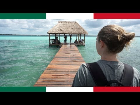 The Maldives of Mexico: Our First Day in Bacalar! 🇲🇽