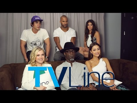 """""""The 100"""" Cast Interview at Comic-Con 2015"""