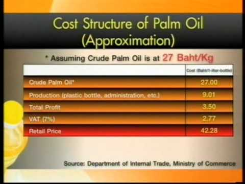 Palm Oil Imports - 18 May 2012 on Thai PBS